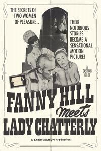 Fanny Hill Meets Lady Chatterly - 11 x 17 Movie Poster - Style A