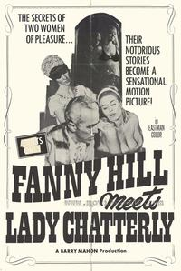Fanny Hill Meets Lady Chatterly - 43 x 62 Movie Poster - Bus Shelter Style A