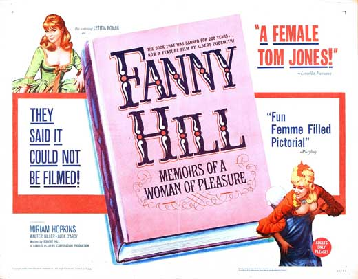 Fanny Hill: Memoirs of a Woman of Pleasure movie