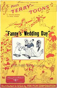 Fanny's Wedding Day - 43 x 62 Movie Poster - Bus Shelter Style A