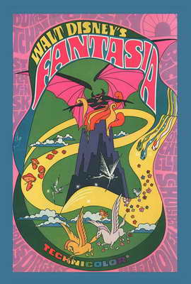 Fantasia - 27 x 40 Movie Poster - Style A