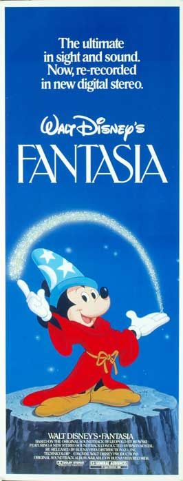Fantasia - 14 x 36 Movie Poster - Insert Style A