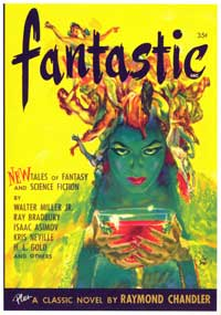 Fantastic - 11 x 17 Retro Book Cover Poster