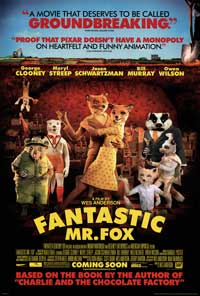 Fantastic Mr. Fox - 27 x 40 Movie Poster - Style B