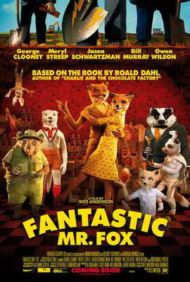 Fantastic Mr. Fox - 27 x 40 Movie Poster - Style C