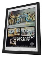 Fantastic Planet - 27 x 40 Movie Poster - Style A - in Deluxe Wood Frame