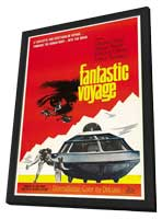 Fantastic Voyage - 27 x 40 Movie Poster - Style B - in Deluxe Wood Frame