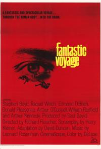 Fantastic Voyage - 27 x 40 Movie Poster - Style A