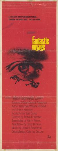 Fantastic Voyage - 14 x 36 Movie Poster - Insert Style A