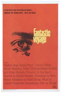 Fantastic Voyage - 11 x 17 Movie Poster - Style E