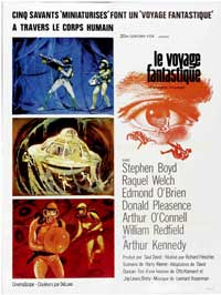 Fantastic Voyage - 27 x 40 Movie Poster - French Style A