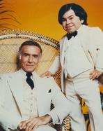 Fantasy Island - Elvis Presley Leaning on Bed Black and White