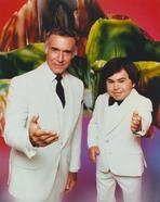 Fantasy Island - Elvis Presley Facing Back in Classic