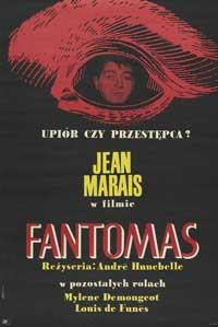 Fant�mas - 11 x 17 Movie Poster - Polish Style A