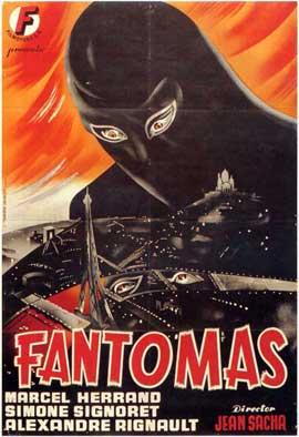 Fantomas - 11 x 17 Movie Poster - Spanish Style A
