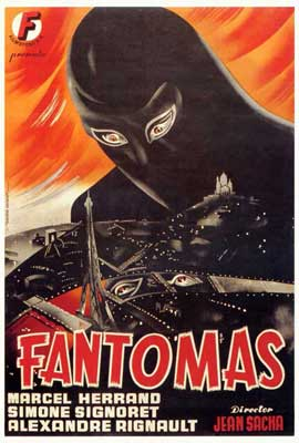 Fantomas - 27 x 40 Movie Poster - Spanish Style A
