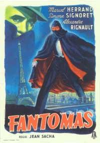 Fantomas - 11 x 17 Movie Poster - Italian Style A