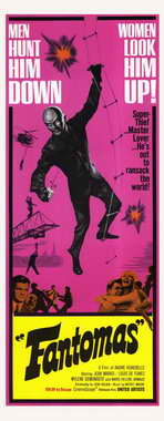 Fantomas - 14 x 36 Movie Poster - Insert Style A