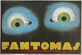 Fantomas - 11 x 17 Movie Poster - French Style A