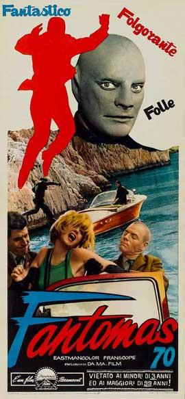 Fantomas - 14 x 36 Movie Poster - Insert Style B