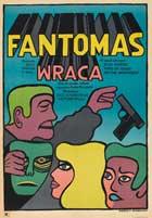 Fantomas se dechaine - 11 x 17 Movie Poster - Polish Style A