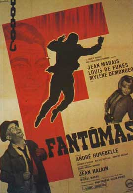 Fantomas Strikes Back - 11 x 17 Movie Poster - French Style A