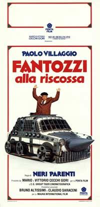 Fantozzi alla Riscossa - 13 x 28 Movie Poster - Italian Style A