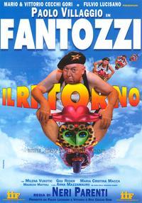 Fantozzi Il Ritorno - 27 x 40 Movie Poster - Italian Style A