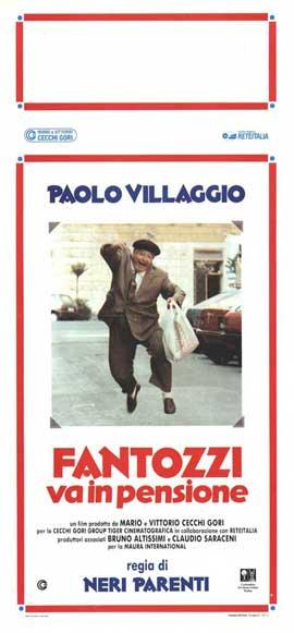 Fantozzi va in pensione - 13 x 28 Movie Poster - Italian Style A
