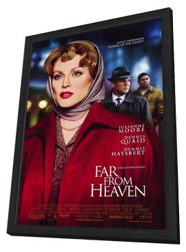 Far from Heaven - 27 x 40 Movie Poster - Style A - in Deluxe Wood Frame