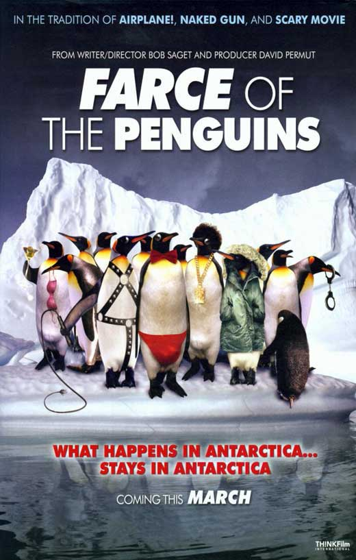 Farce of the penguins movie posters from movie poster shop for Farcical comedy plays