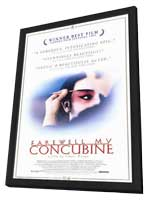 Farewell My Concubine - 11 x 17 Movie Poster - Style A - in Deluxe Wood Frame