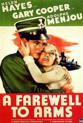 A Farewell to Arms - 27 x 40 Movie Poster - Style A