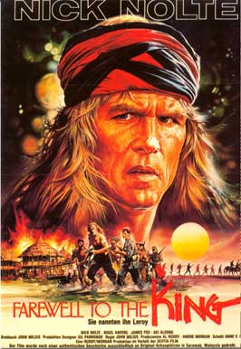 Farewell to the King - 11 x 17 Movie Poster - German Style A