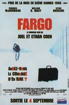 Fargo - 11 x 17 Movie Poster - French Style A