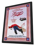 Fargo - 27 x 40 Movie Poster - Style A - in Deluxe Wood Frame