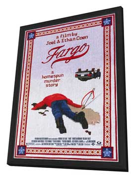Fargo - 11 x 17 Movie Poster - Style A - in Deluxe Wood Frame