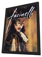 Farinelli - 11 x 17 Movie Poster - Style A - in Deluxe Wood Frame