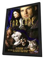 Farscape - 11 x 17 Movie Poster - Style B - in Deluxe Wood Frame