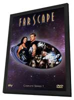 Farscape - 27 x 40 Movie Poster - Style A - in Deluxe Wood Frame