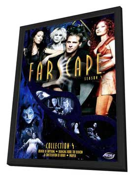 Farscape - 11 x 17 Movie Poster - Style C - in Deluxe Wood Frame