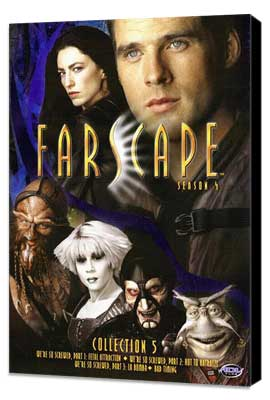 Farscape - 11 x 17 Movie Poster - Style B - Museum Wrapped Canvas