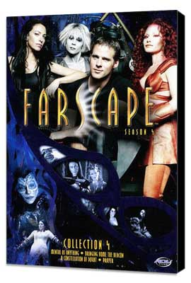 Farscape - 11 x 17 Movie Poster - Style C - Museum Wrapped Canvas