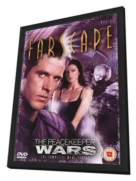 Farscape: The Peacekeeper Wars - 27 x 40 Movie Poster - UK Style B - in Deluxe Wood Frame