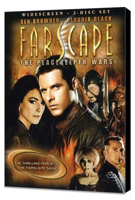 Farscape: The Peacekeeper Wars - 27 x 40 Movie Poster - Style A - Museum Wrapped Canvas