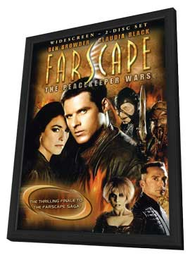 Farscape: The Peacekeeper Wars - 11 x 17 Movie Poster - Style A - in Deluxe Wood Frame