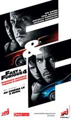 Fast and Furious 4 - 11 x 17 Movie Poster - French Style A