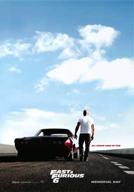 Fast & Furious 6 - DS 1 Sheet Movie Poster - Style A