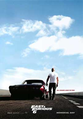Fast & Furious 6 - 27 x 40 Movie Poster - Style A