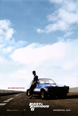 Fast & Furious 6 - DS 1 Sheet Movie Poster - Style B